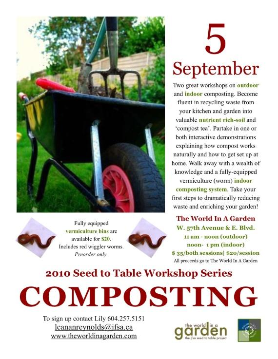Composting Workshop - September 5th